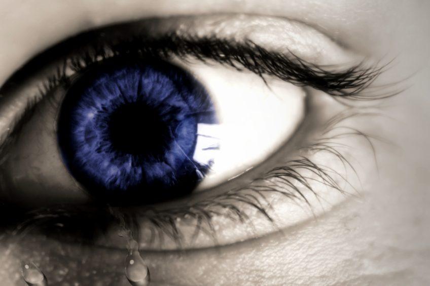 Porque os olhos choram?